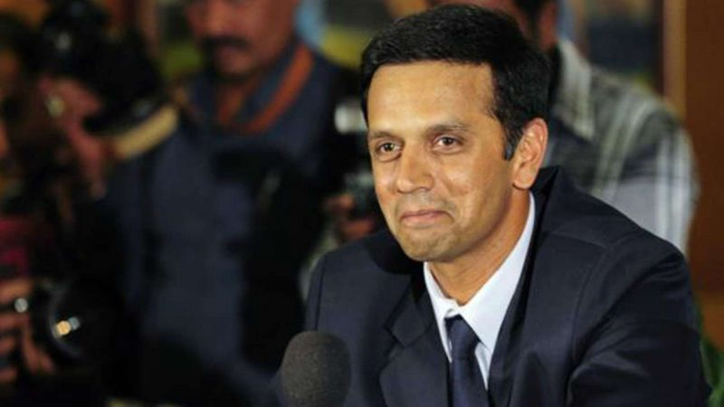 Cricketer Rahul Dravid, the state election icon