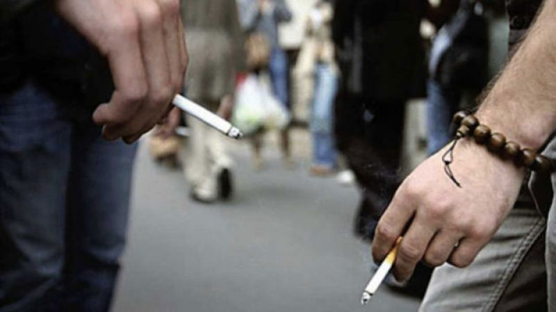Assam Police have started fining people for smoking in public places