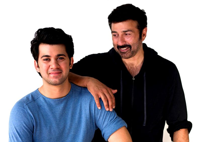 Sunny Deol with his son, Karan
