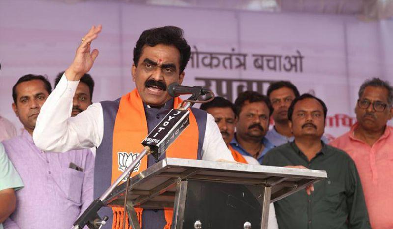 BJP's state unit chief Rakesh Singh