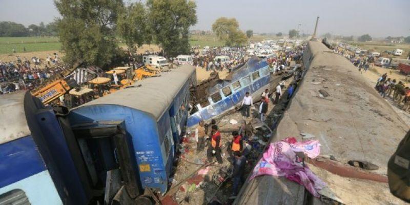 Indore-Patna Express derailment near Kanpur