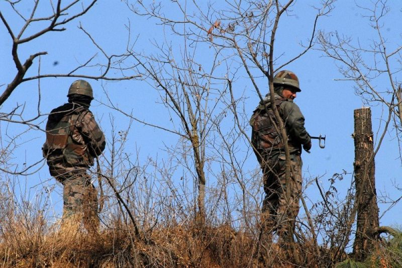 Security forces launched a cordon and search operation