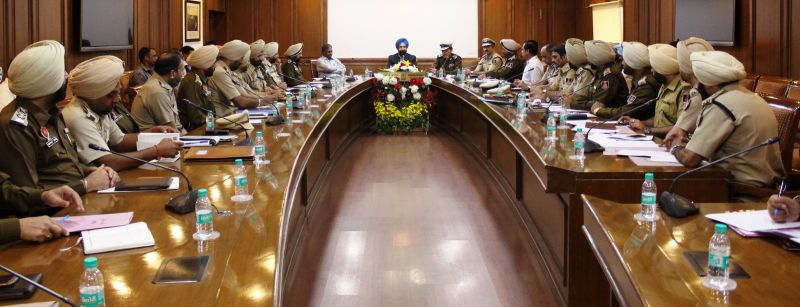 Chairs meeting with top brass of jail department