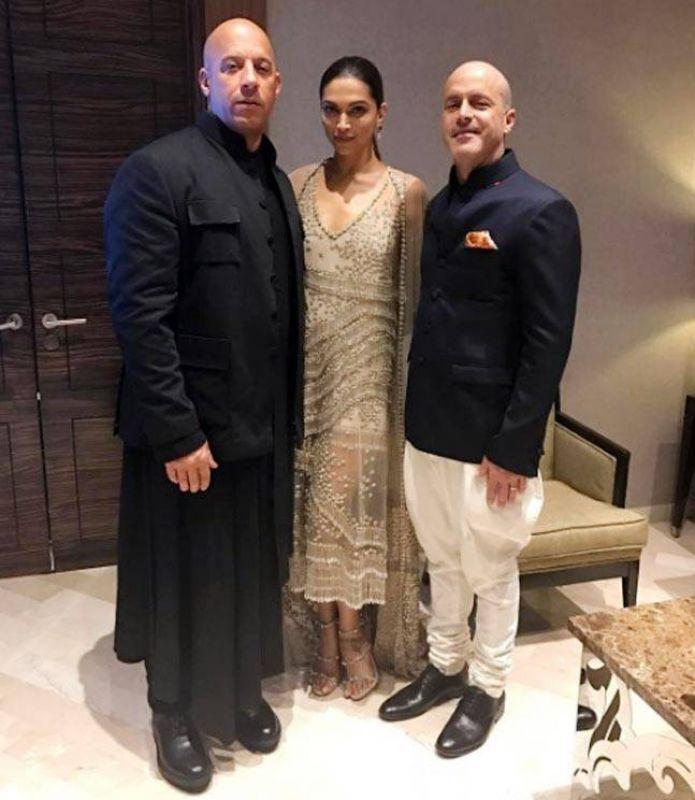 Vin Diesel in Angrakha looks