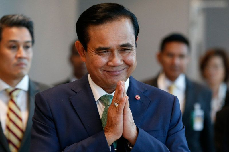 Prayuth Chan-Ocha has thanked people involved in the rescue