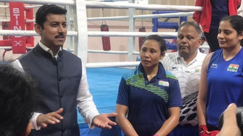 Sports Minister Rathore launches '5MinuteAur' challenge