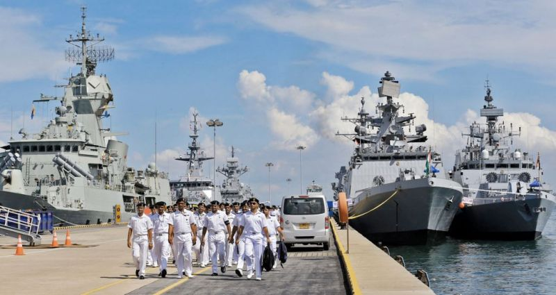 Indian and Singapore navies will conduct joint exercises next month