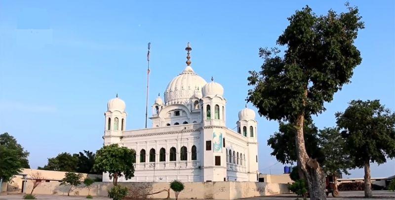Kartarpur Sahib gurdwara corridor