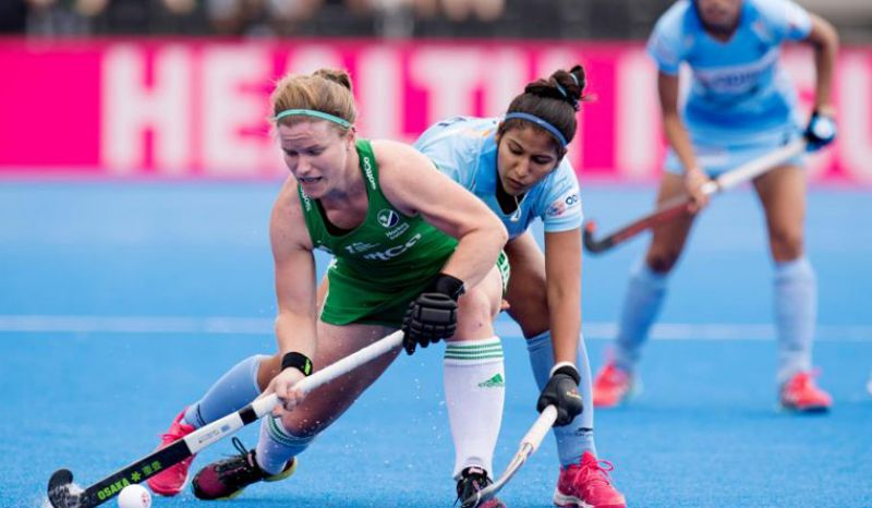 Indian women's hockey team draw 1-1 with Ireland