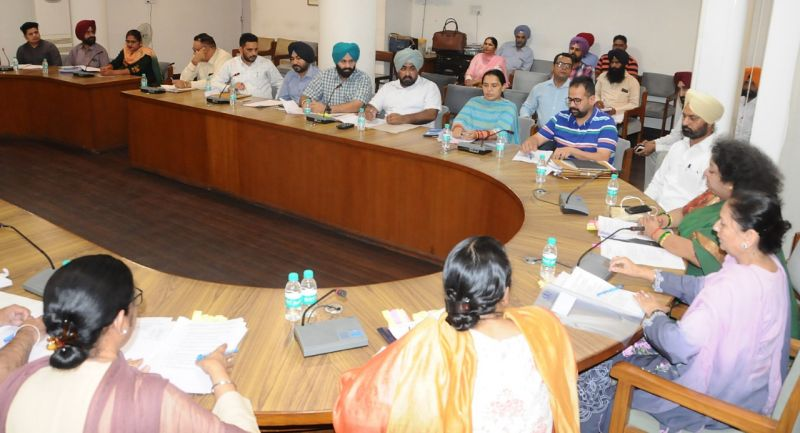 District Programme Officers -Meeting