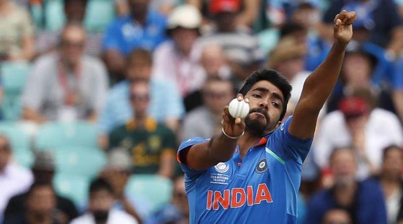 bowler Jasprit Bumrah