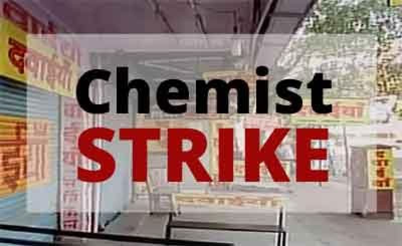 Chemists' strike hits patients